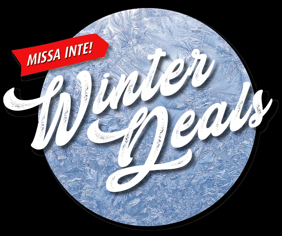 Missa inte Winter Deals 2021